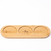 Picture of Bamboo tray for three jars