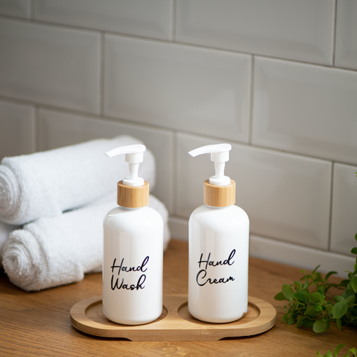 Picture of Two Dispensers set 250 ml - White
