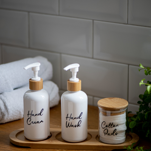 Picture of Beauty set - 250 ml / 300 ml - White