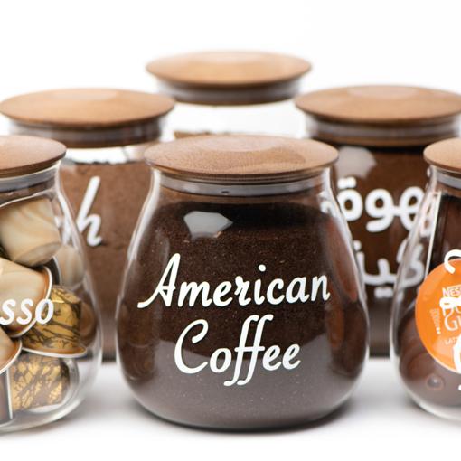 Picture of Airtight Glass jar 800 ml - Dark Brown Lid