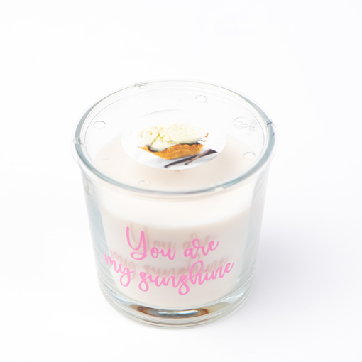 Picture of Scented candle Sweet vanilla
