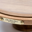 Picture of Cake Stand - Amazon Acacia wood without glass dome