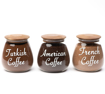 Picture of Coffee Mania Set - 800 ml Jar - Dark Lid
