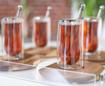 صورة طقم الشاي والقهوة من الرخام الطبيعي - ٦ قطع