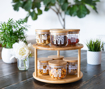 Picture of Rotary Stand With 8 Curved Jars